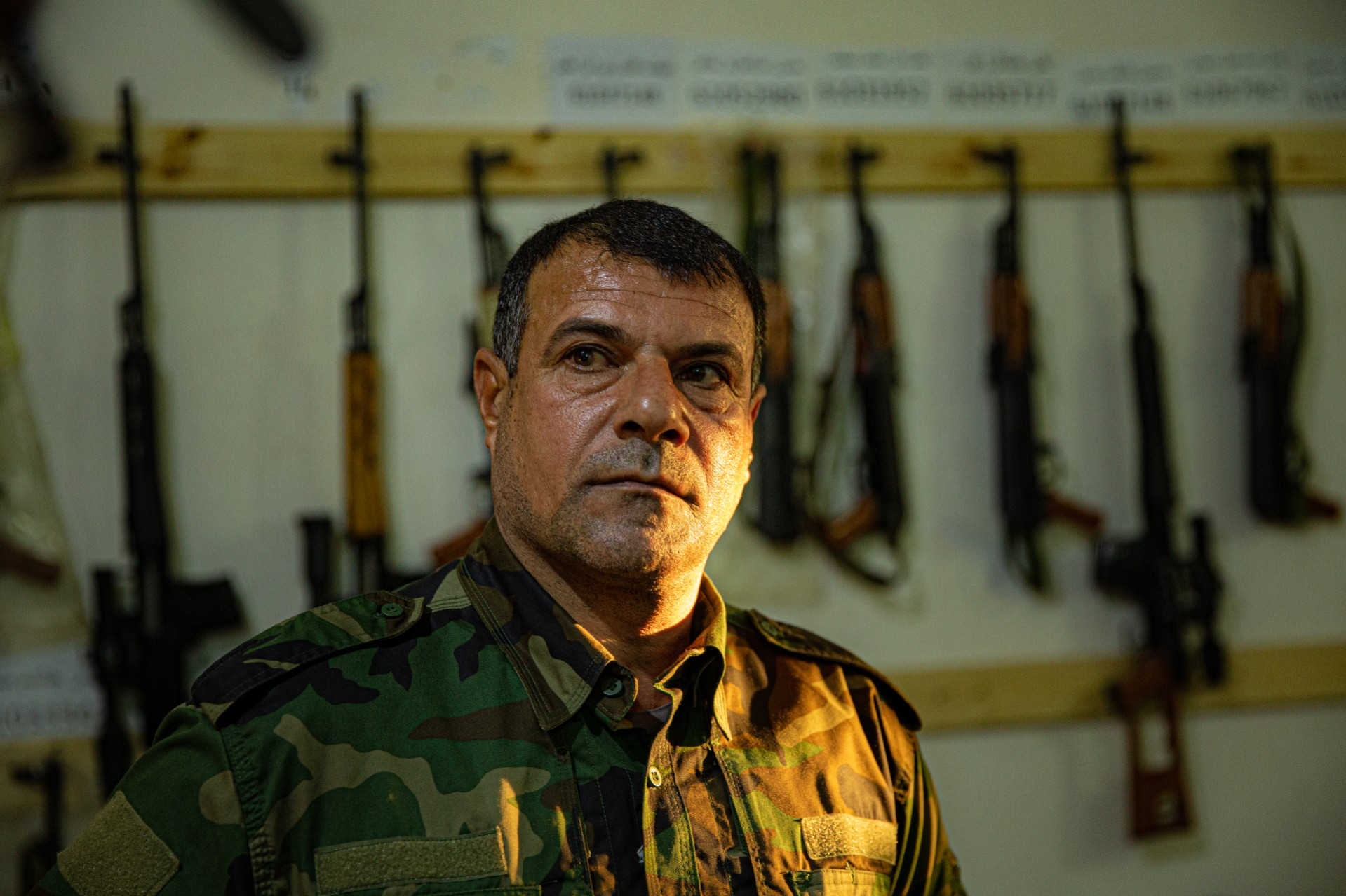 Prajurit di pangkalan militer