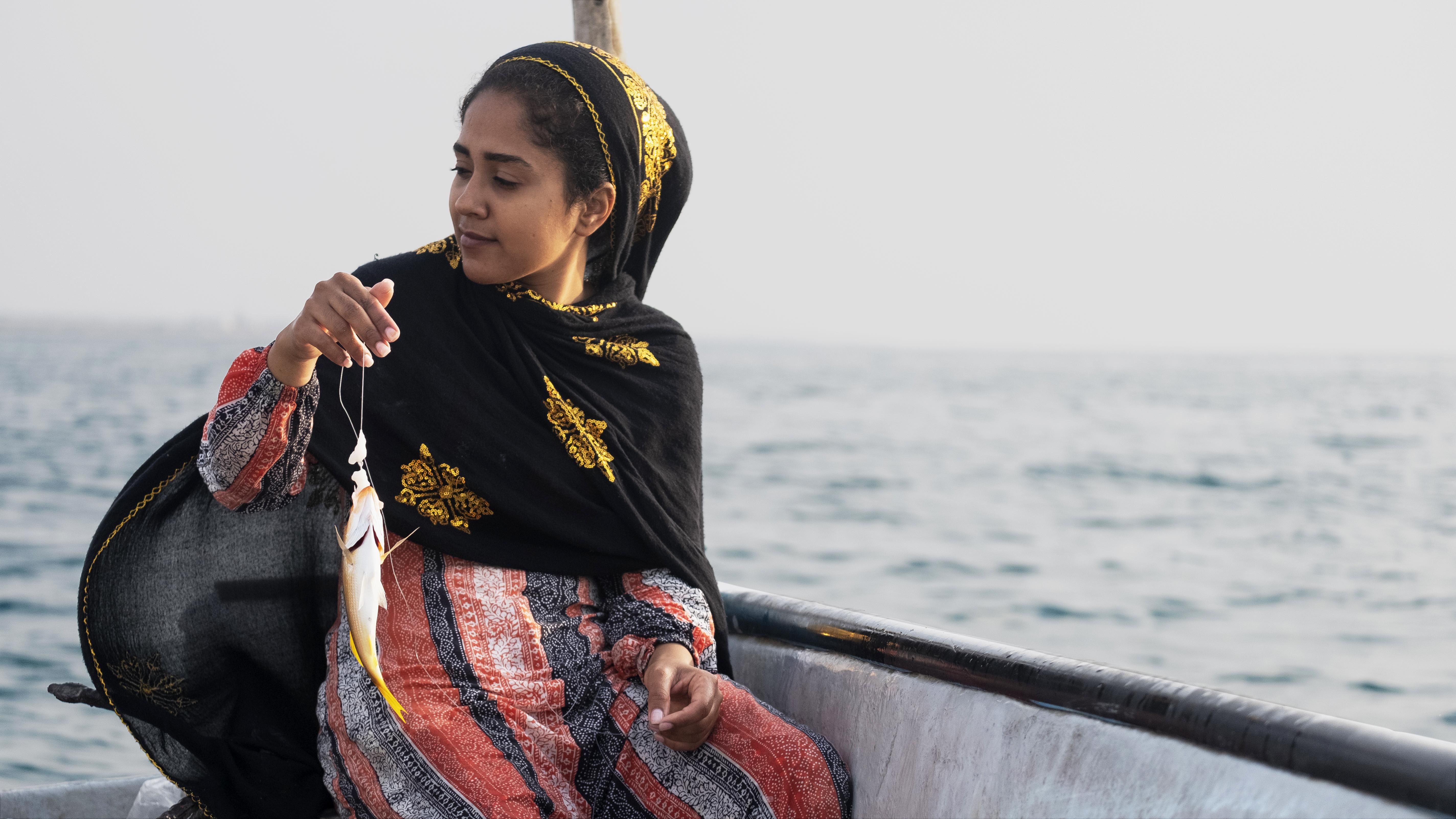 Nelayan perempuan Khadijeh Ghodsi
