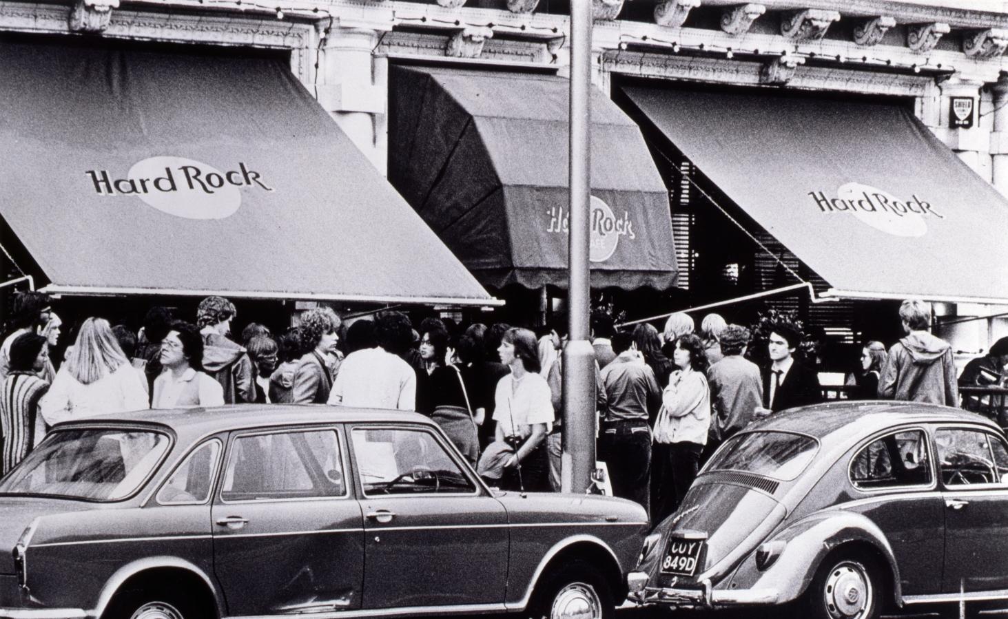 Hard Rock Cafe London pada 1970-an. Foto milik Hard Rock Cafe
