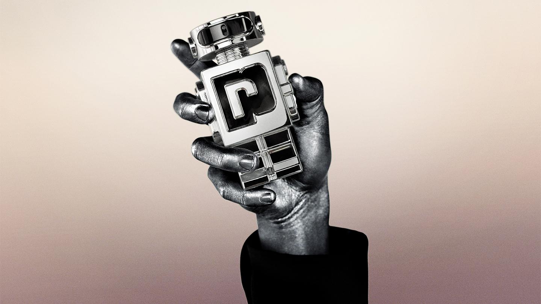 PACO RABANNE phantom AI fragrance bottle