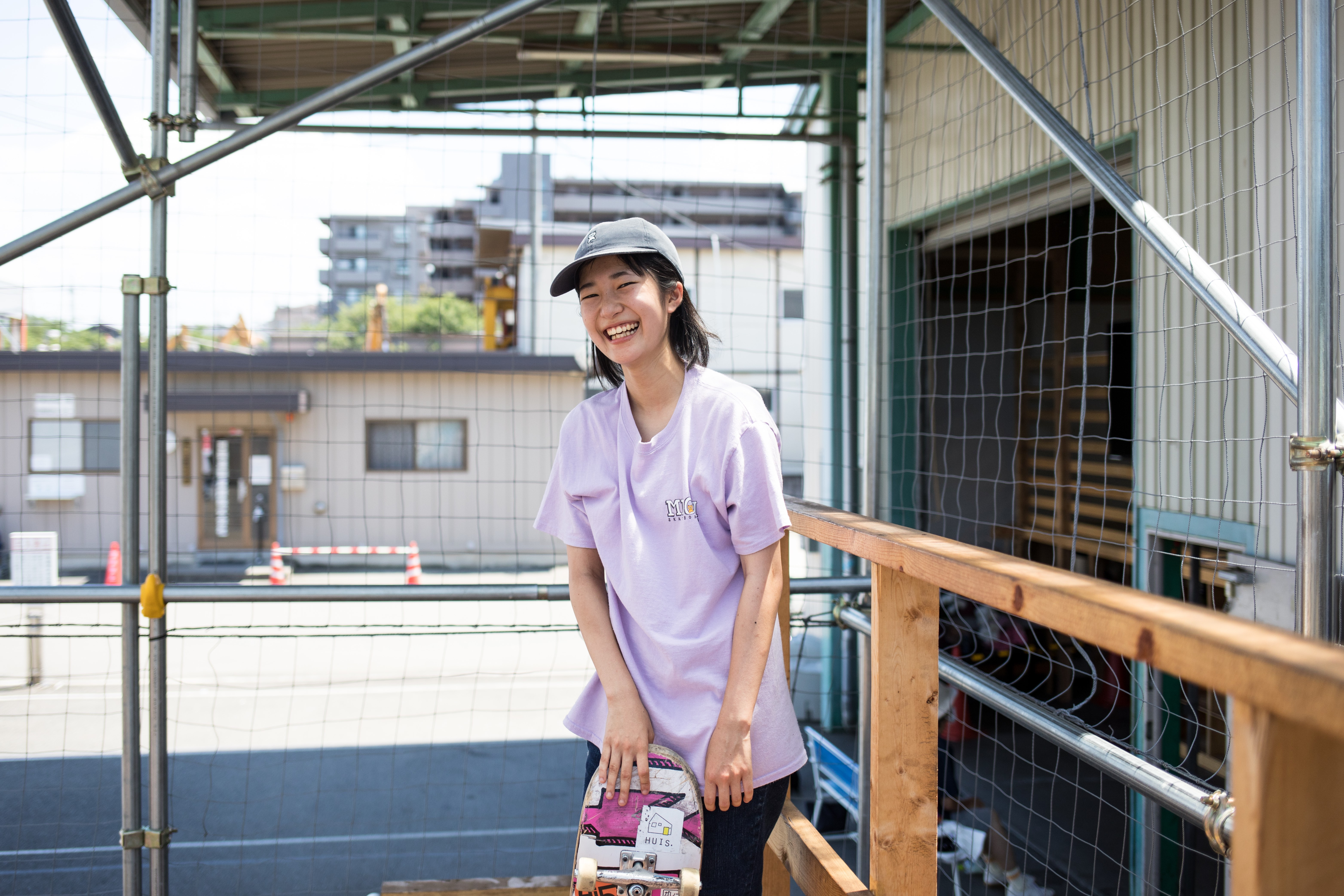Skater perempuan Rinka Kanamori di Jepang