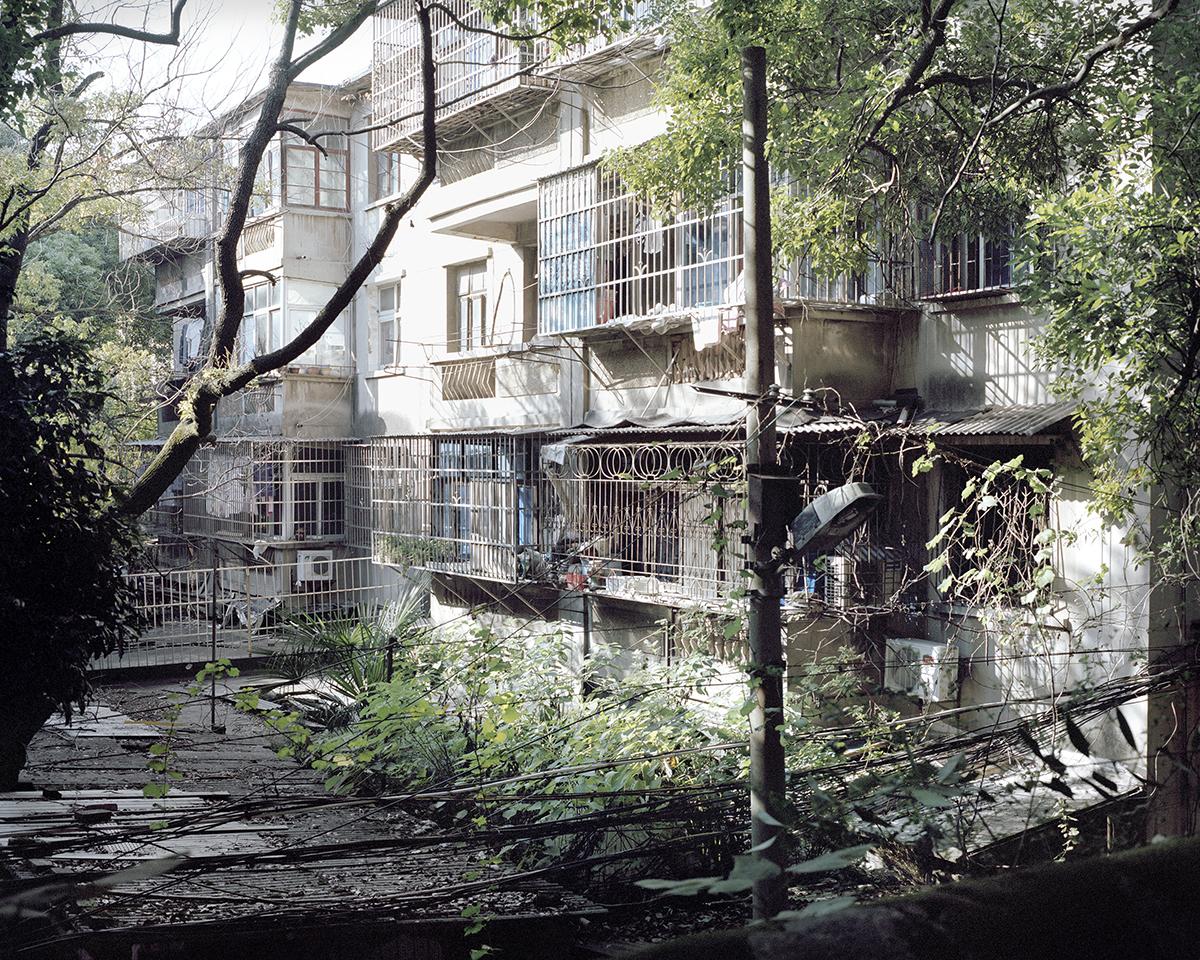 Lingkungan perumahan kumuh di Tiongkok