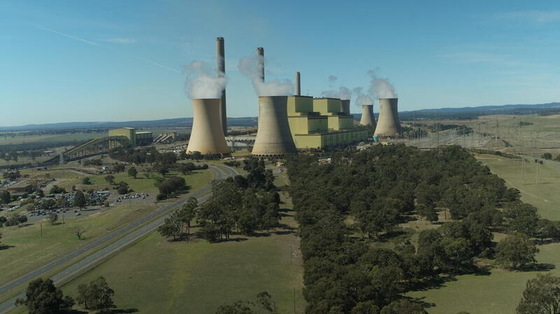 AGL Loy Yang A coal-fired power station in Victoria, Australia.