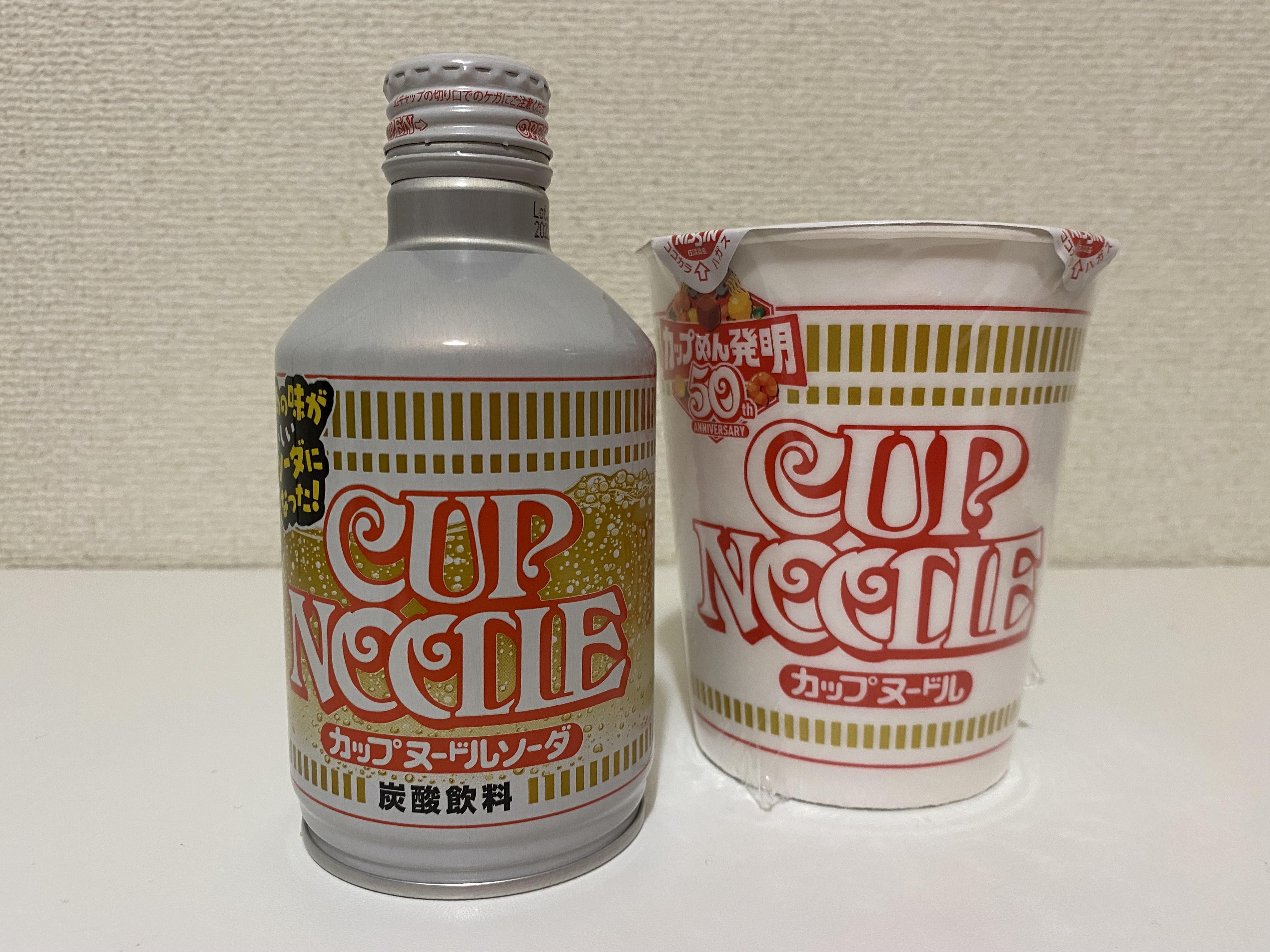 Minuman soda rasa Mi Cup Nissin Original