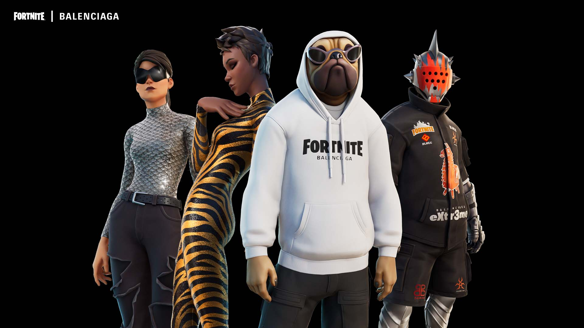 a still from balenciaga's ss22 fortnite collection