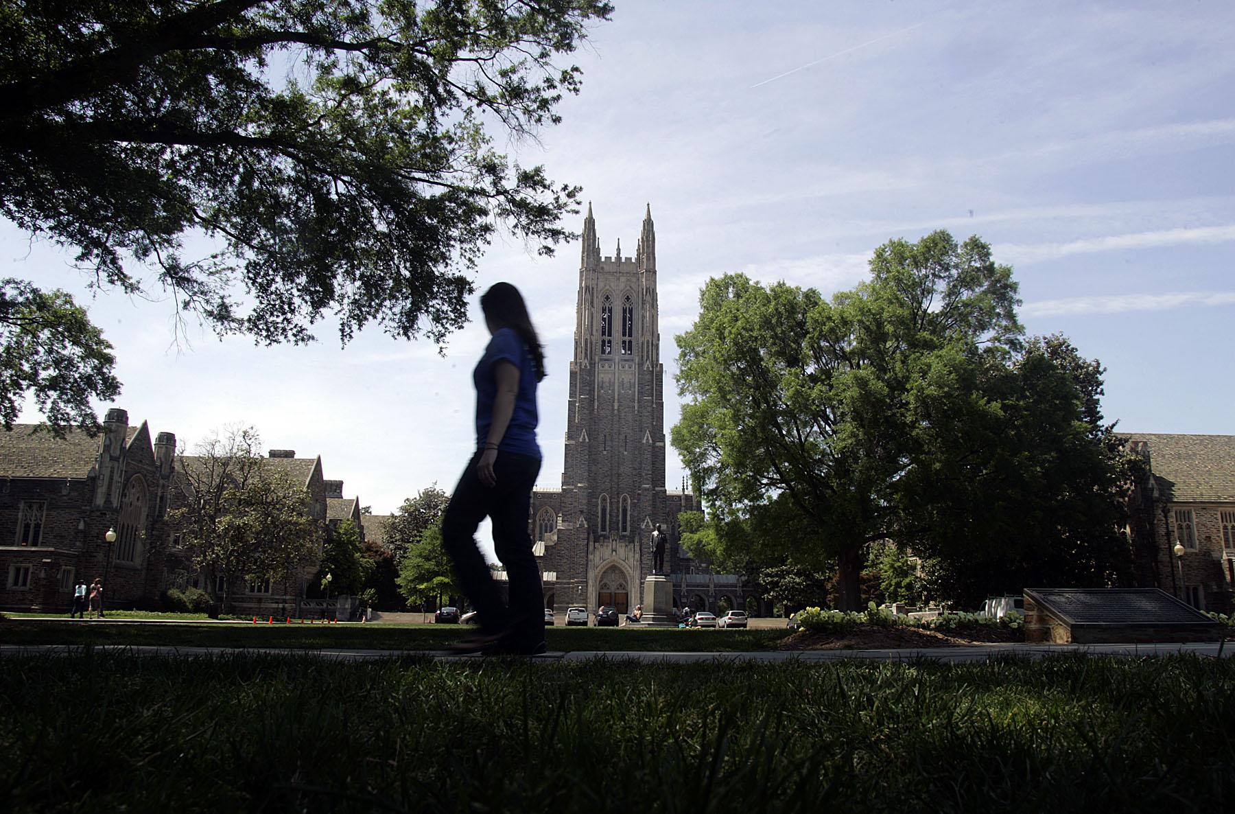 The Duke campus