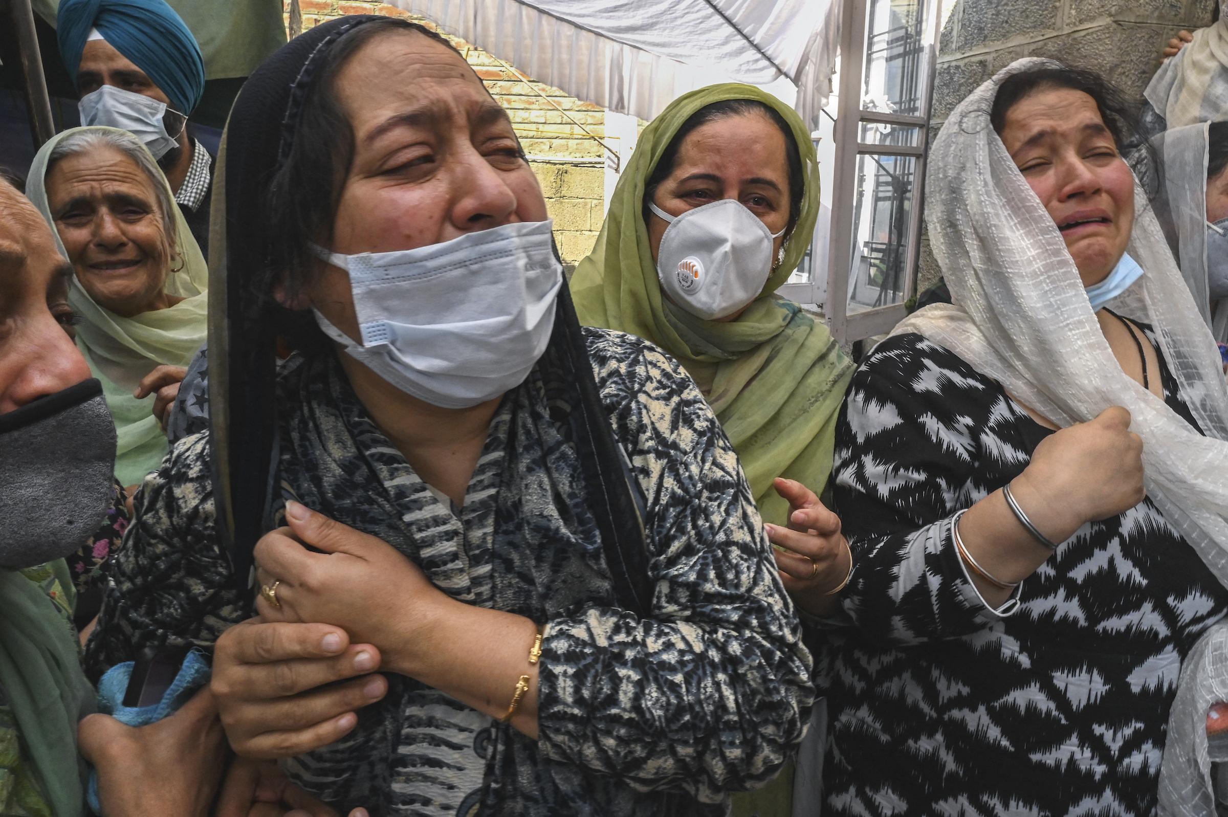 Supinder Kour relatives Kashmir India