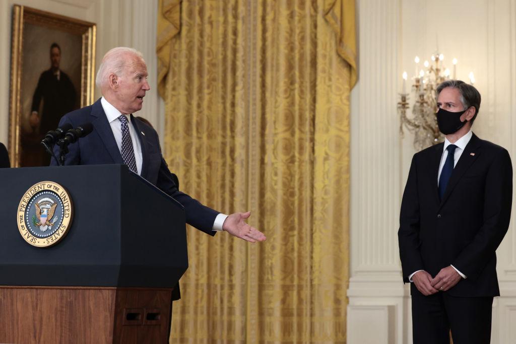 Biden and Blinken.