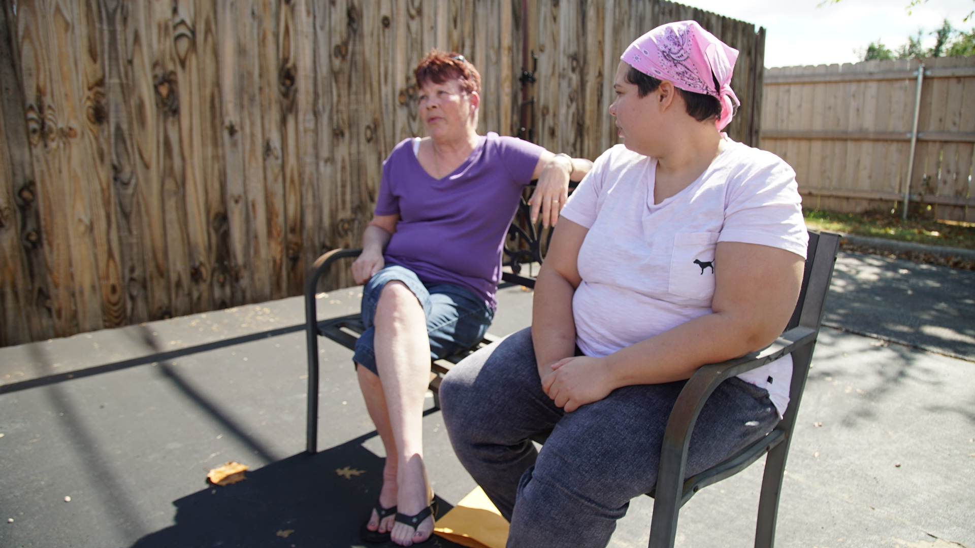 Samantha and her mother Pamela drove from Dallas to Oklahoma City for Samantha's abortion.