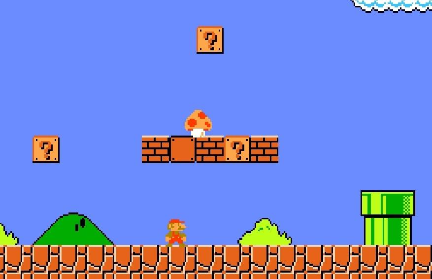old super mario brothers