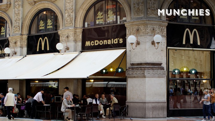 McDonald's Opens Its Most Controversial Location Yet in Vatican City