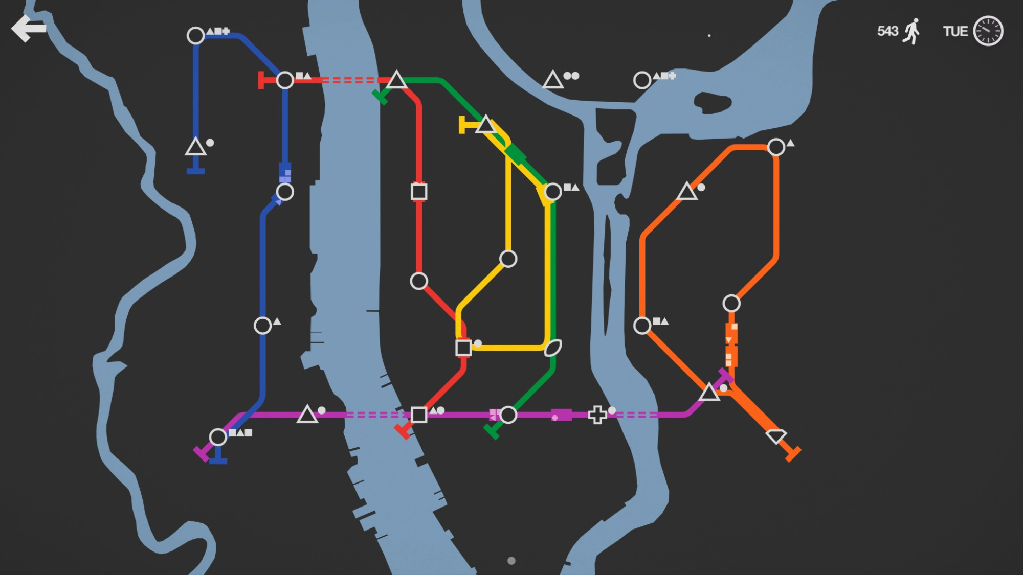 Ideal Nyc Subway Map Efficient.We Asked A Transit Planner How To Up Our Mini Metro Game Vice