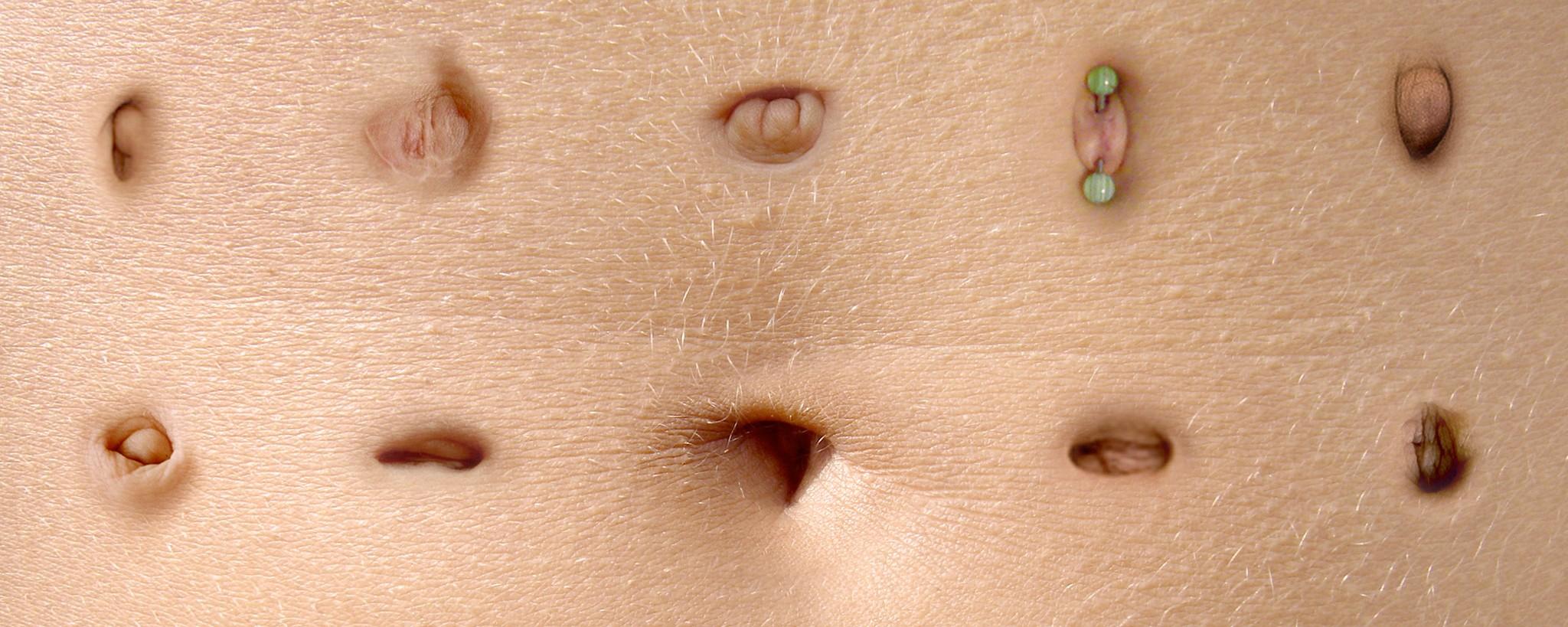 Bauchnabel Nabel lecken