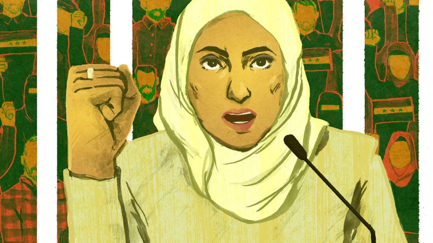 Intalnire cu femeia siriana