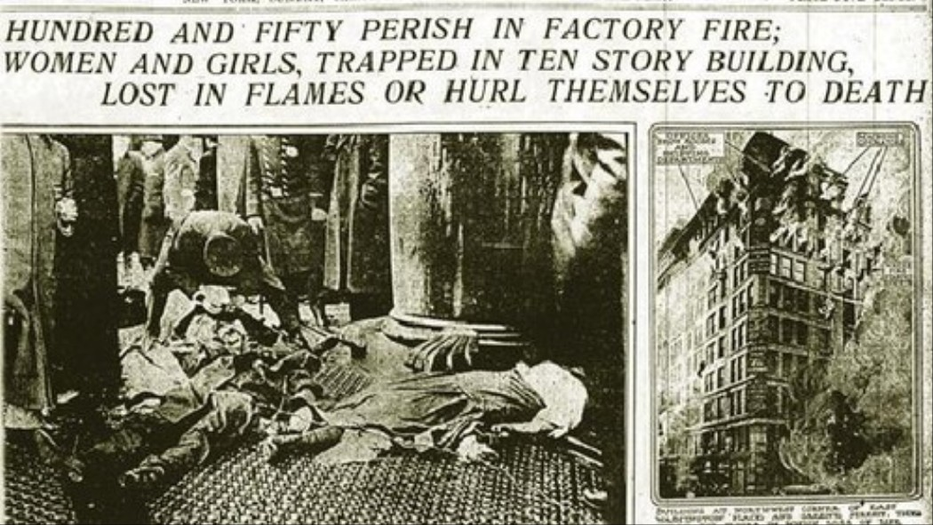 You Owe a Big Thanks to the Dead Ladies of the Triangle Shirtwaist Factory
