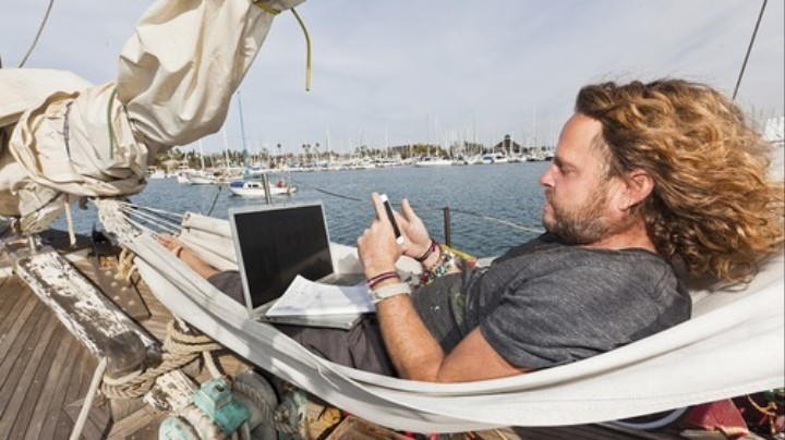 Off the Grid, But Still Online
