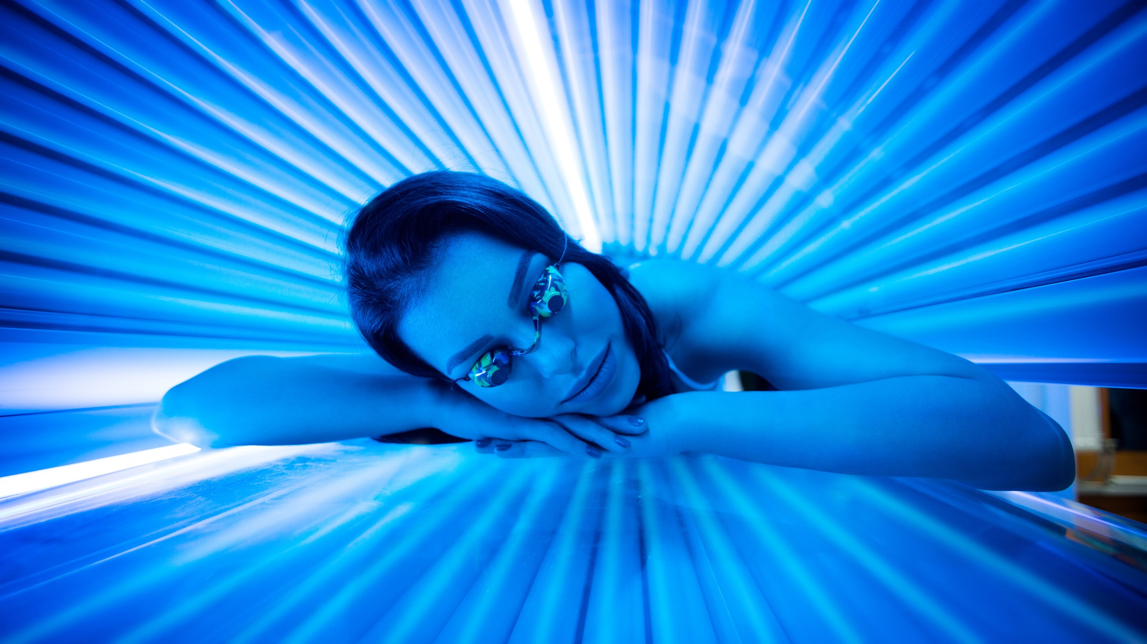 Image result for tanning bed