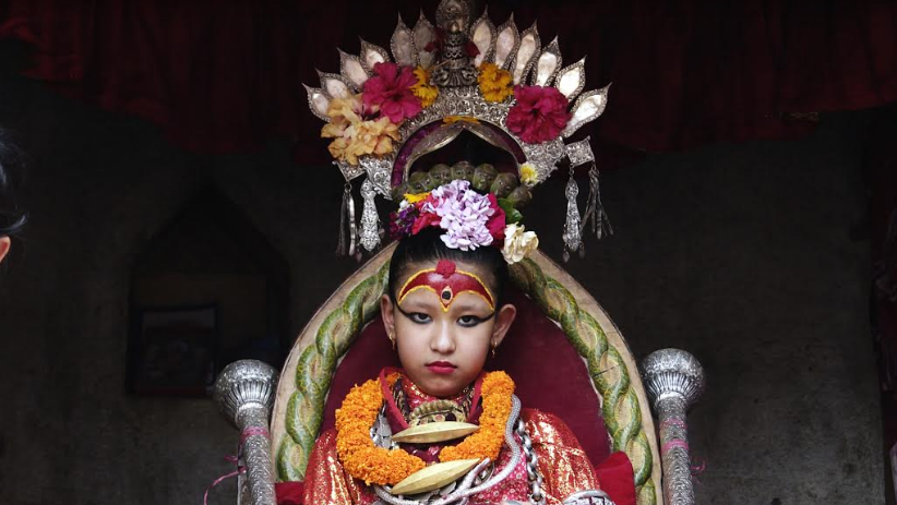 Kumari - Earth Goddess in Nepal