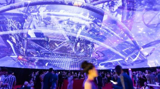 546112a50da Party Like an Art Star Under This Mind-Bending Virtual Dome in Miami ...