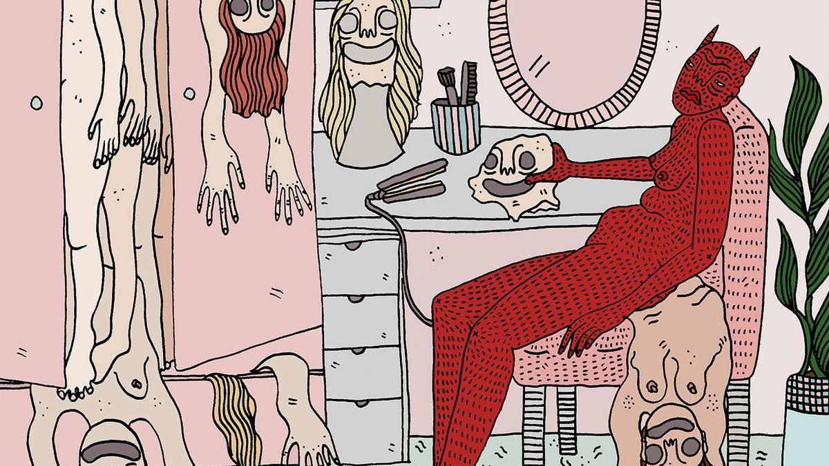 Resultado de imagem para women devil human skin illustrations