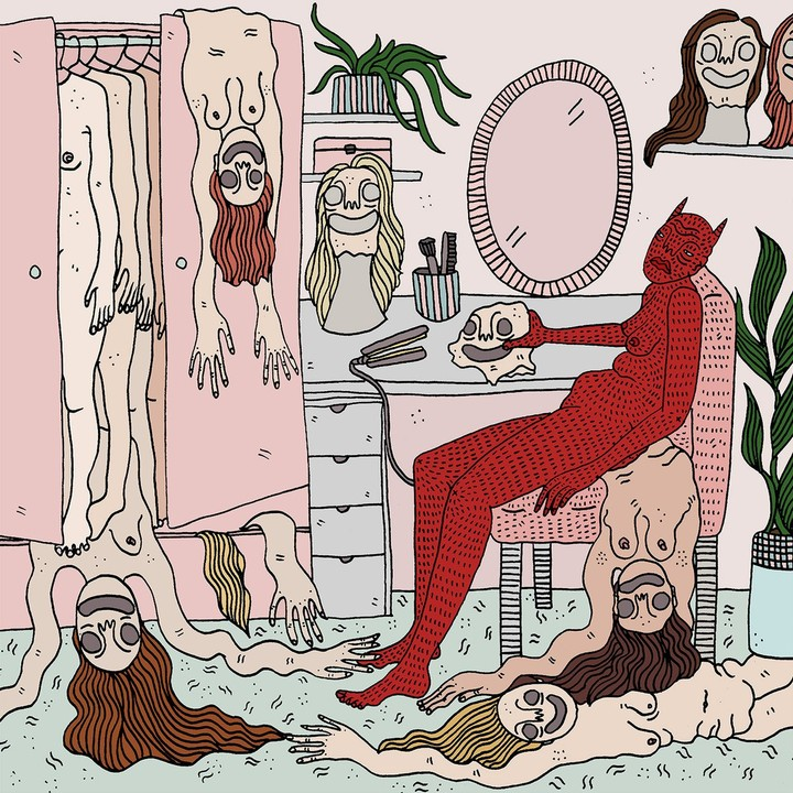 Magical Drawings Put Women in Conversation With Their Demons