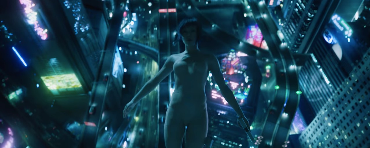 How The New Ghost In The Shell Trailer Stacks Up To The Source Material