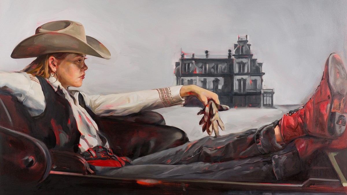 James Dean Giant Oil