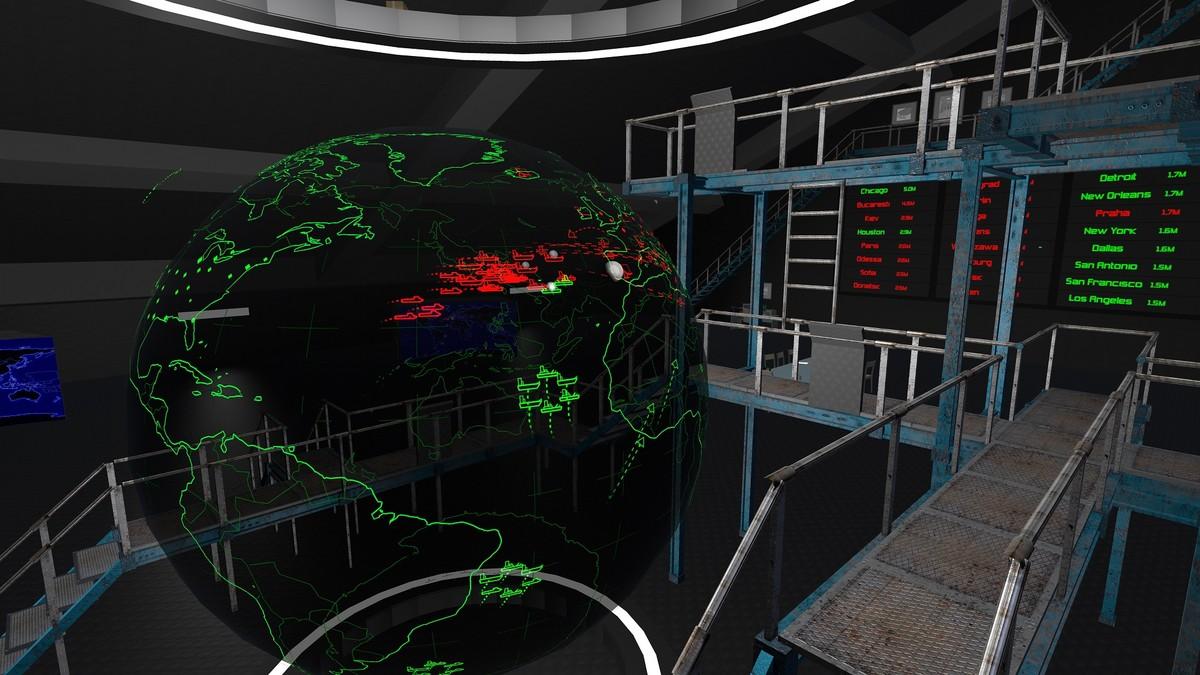 Image result for defcon VR War room