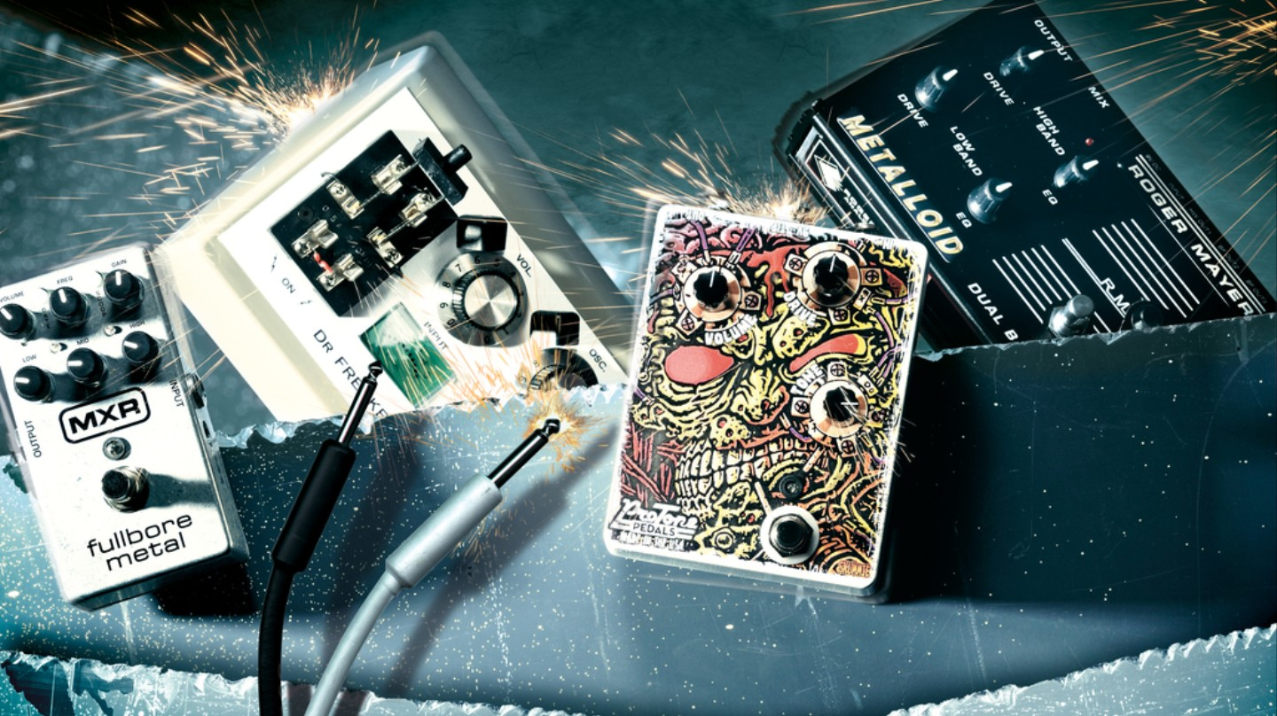 Ride the Feedback: A Brief History of Guitar Distortion