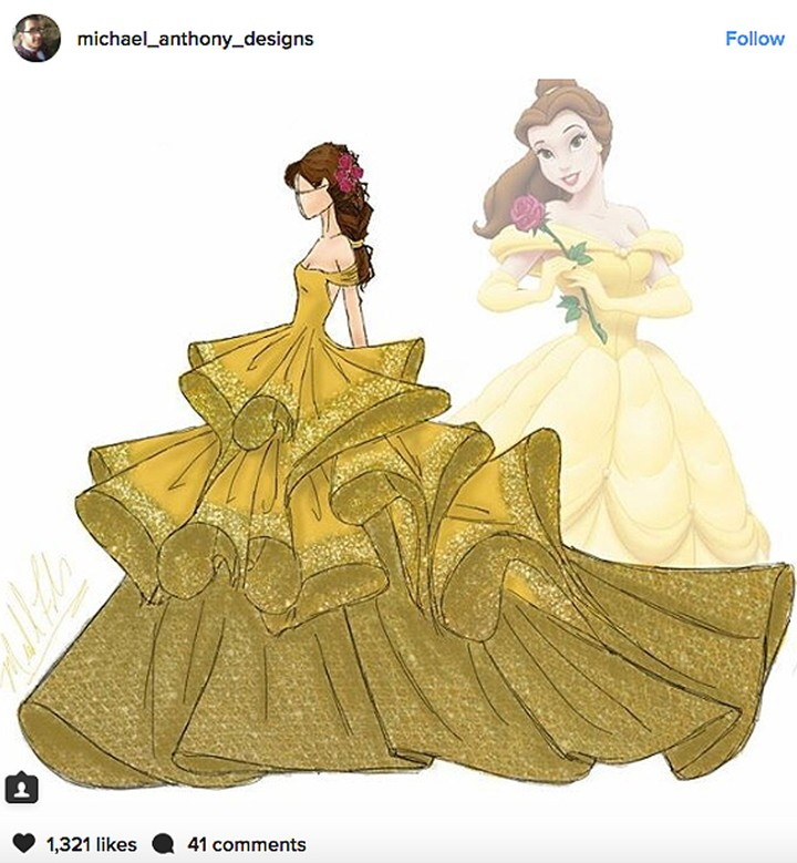 These Disney Princess Are Ready for Fashion Week in Redesigned Haute-Couture Gowns