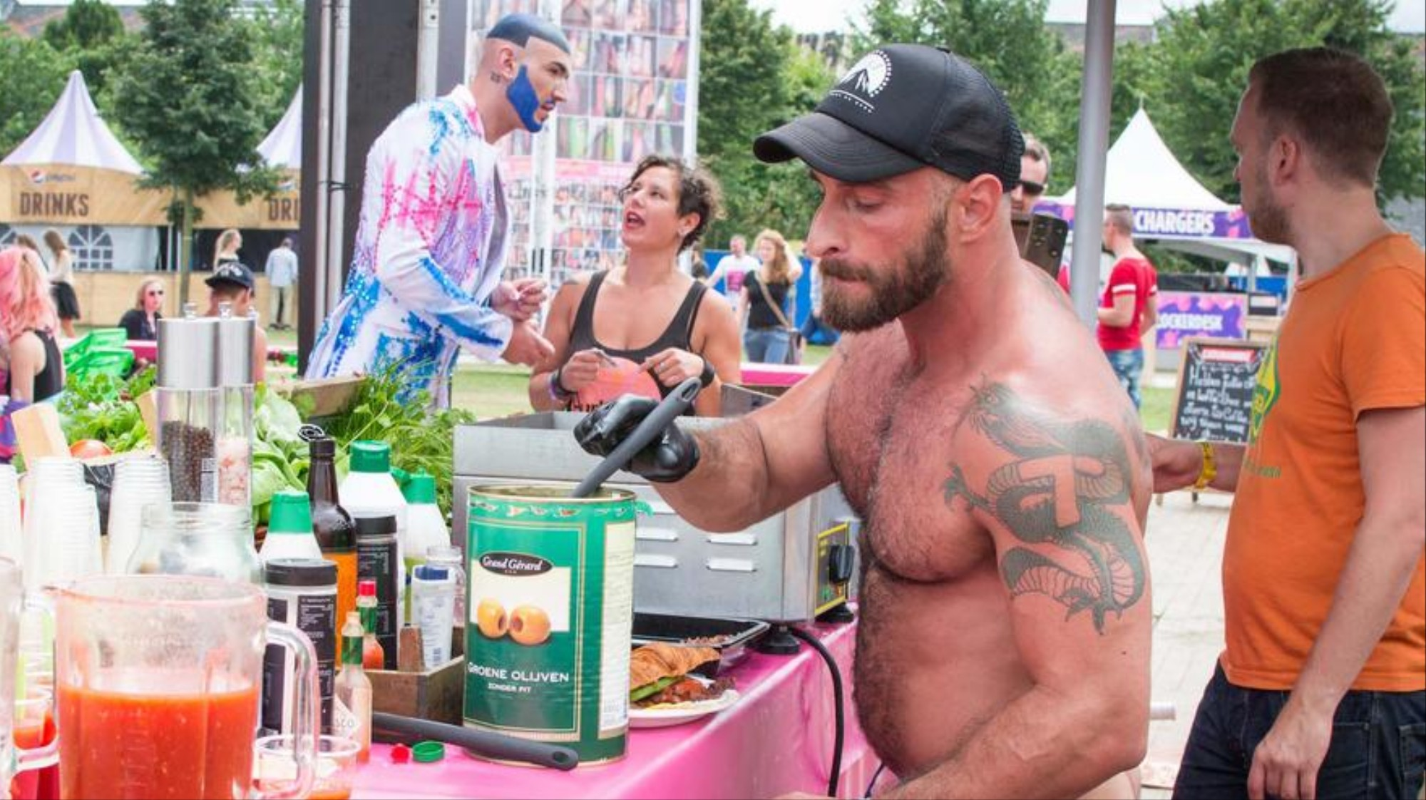 Bears Gays Videos this buff bear loves cooking in the nude - vice