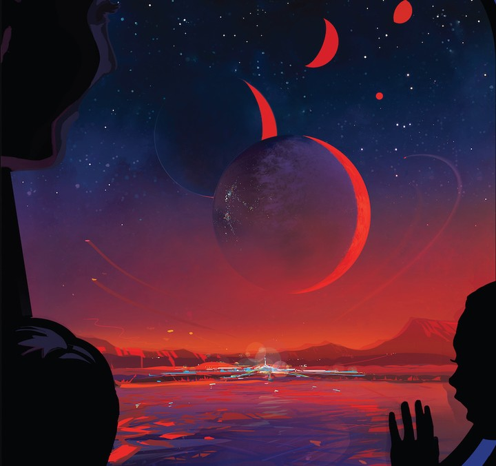 NASA's New Exoplanet Posters Have Us Booking Rockets to Trappist-1