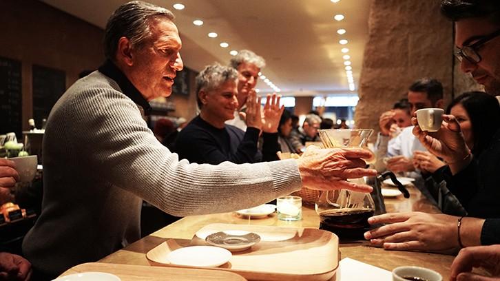 Una giornata a Milano con Howard Schultz, il CEO di Starbucks