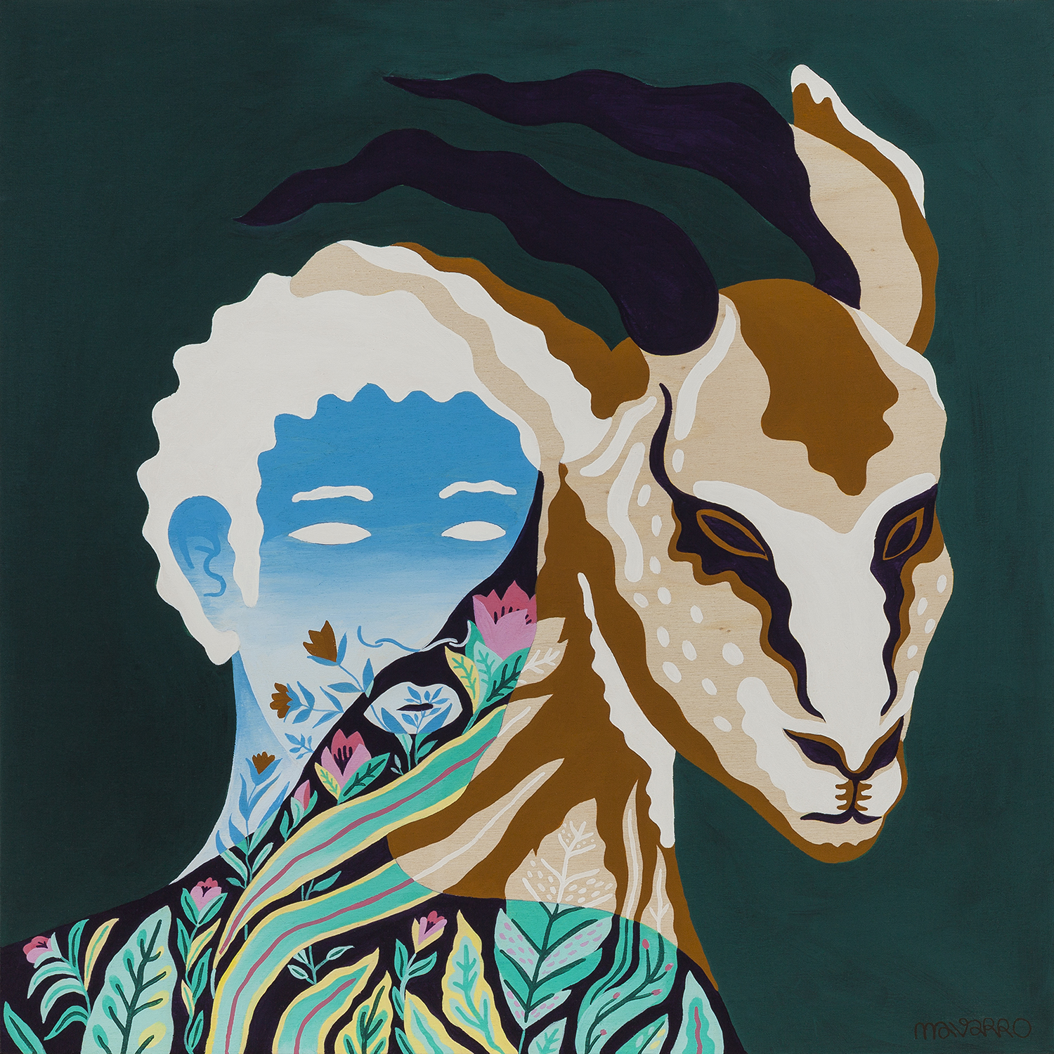 Become One With Nature In These Flora And Fauna Paintings Vice