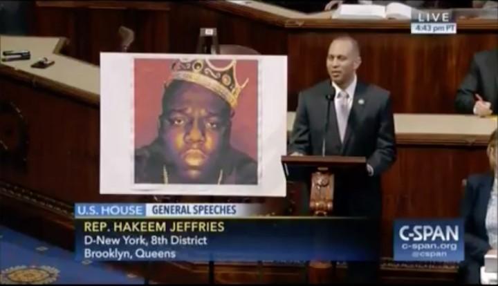 New York Congressman Hakeem Jeffries Paid Tribute to Biggie Smalls on the House Floor