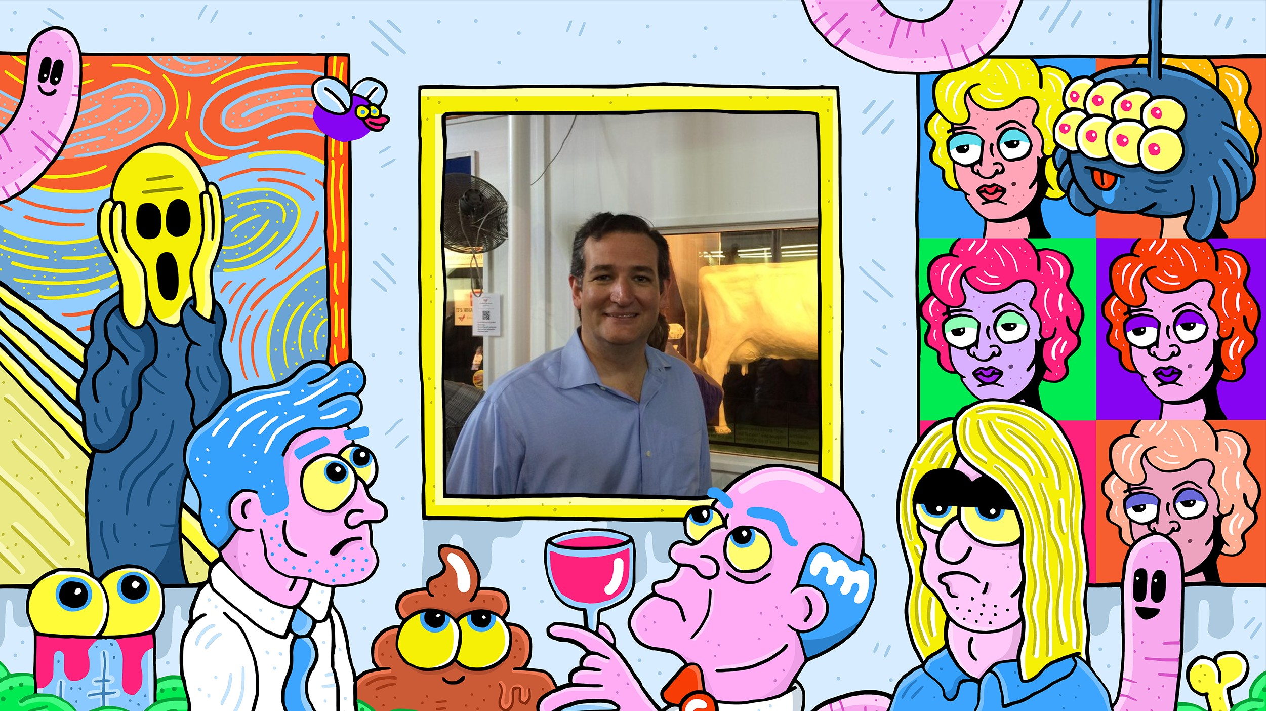 Tweets Of Our Time Ted Cruz And The Butter Cow Vice