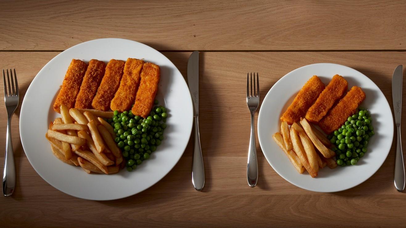как уменьшить порции для похудения