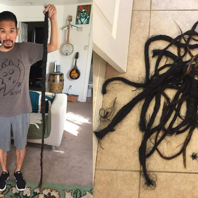 An Interview With A Drummer Who Cut His Dreads Off After 17 Years
