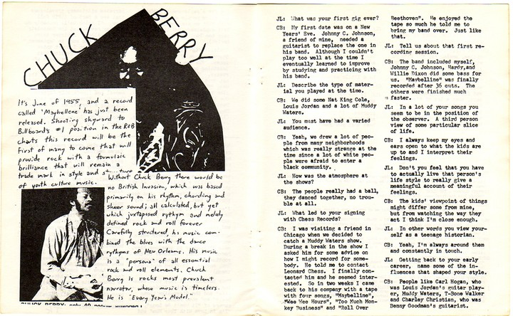Chuck Berry's Reviews of Old Punk Records Are Wonderful