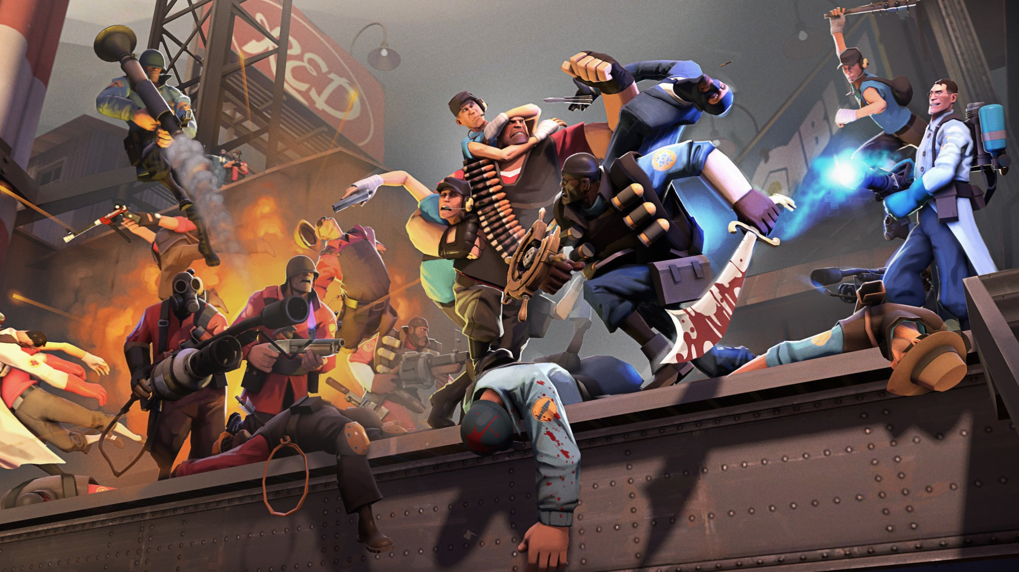 Inside the Resilient 'Team Fortress 2' Community on the