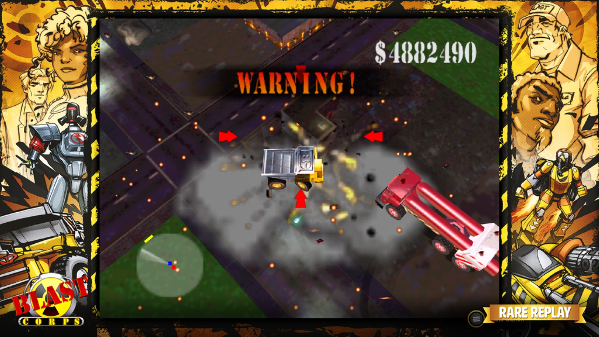 C'mon, Game Devs: It's Time to Bring Back 'Blast Corps' - VICE