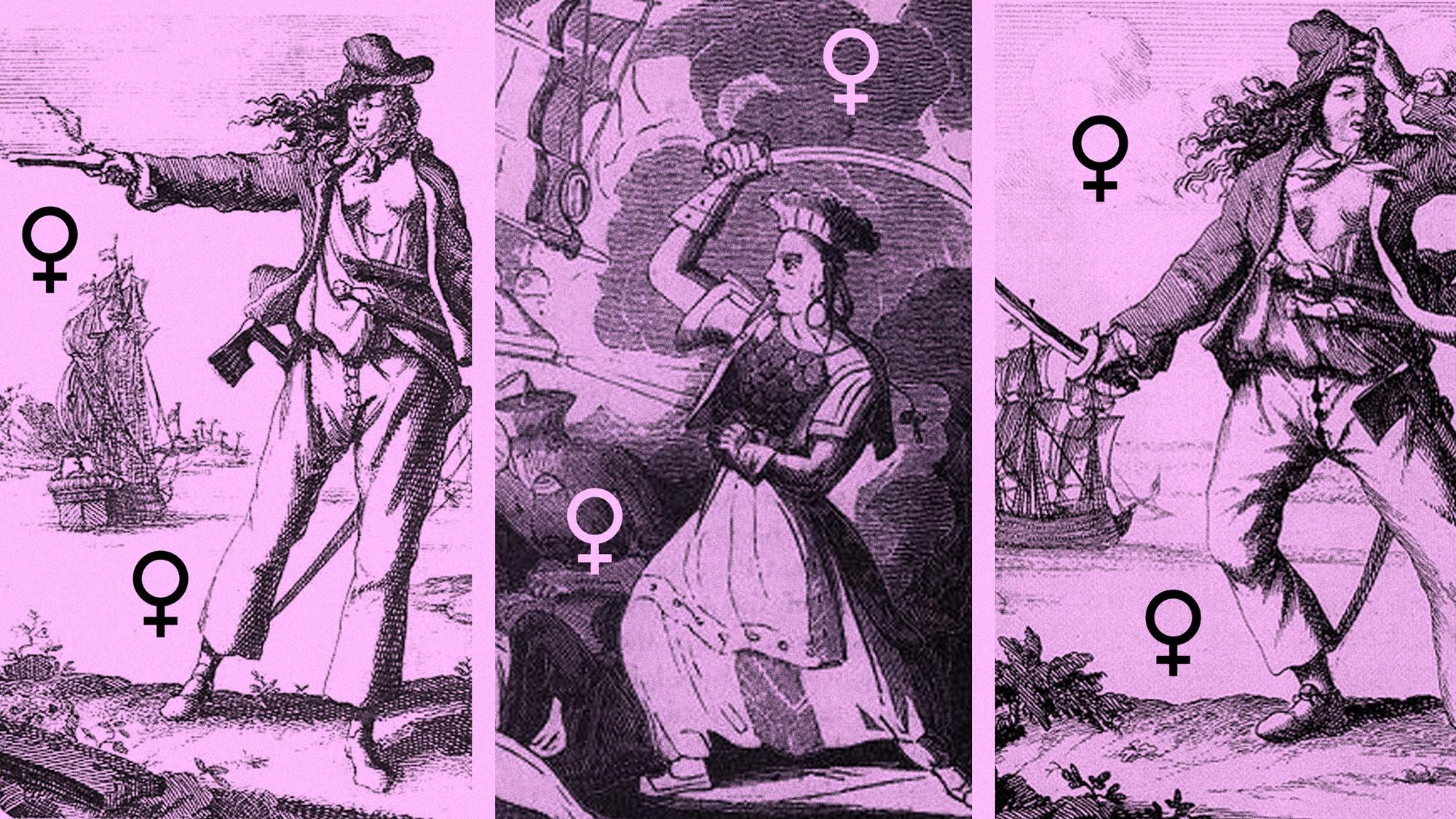 The Pirate Women Who Made Blackbeard Look Like a Joke - VICE