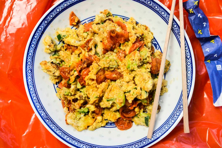 Tomatoes and Eggs (Xihongshi Chao)