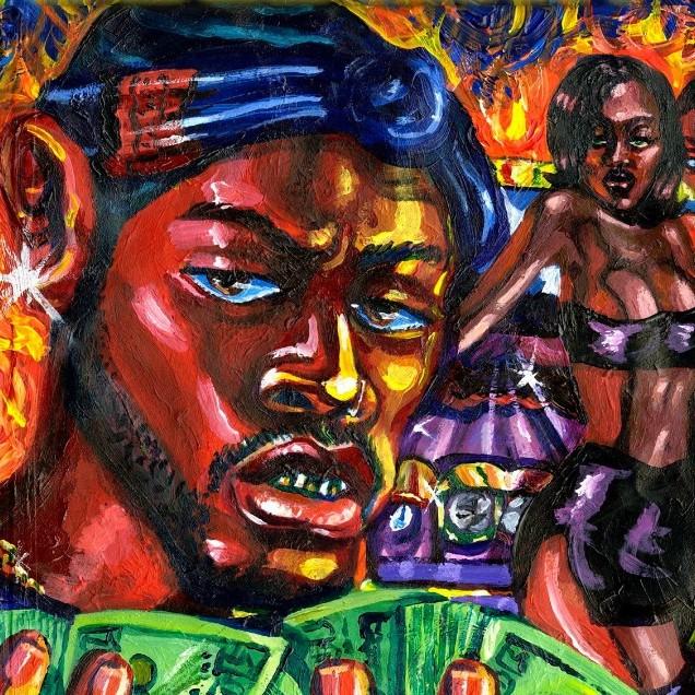 Art Poster GoldLink At What Cost 2017 Album Hip Hop Rap Art Cover 30 24x36 T114
