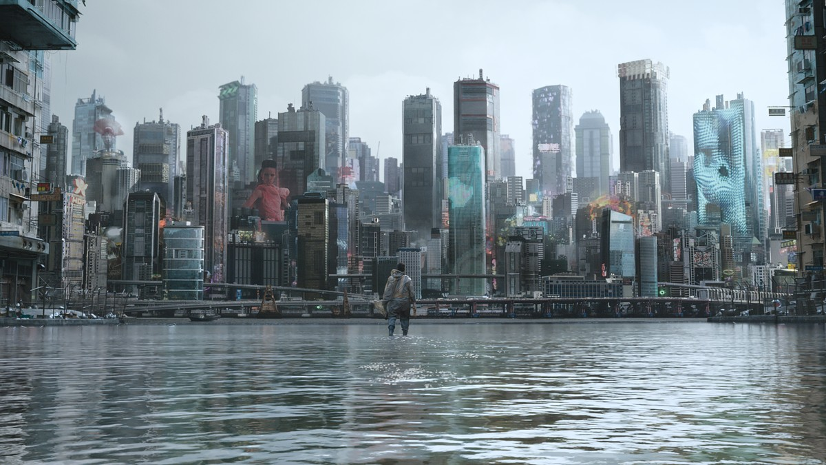 Exclusive How Ghost In The Shell Vfx Artists Built The World Of