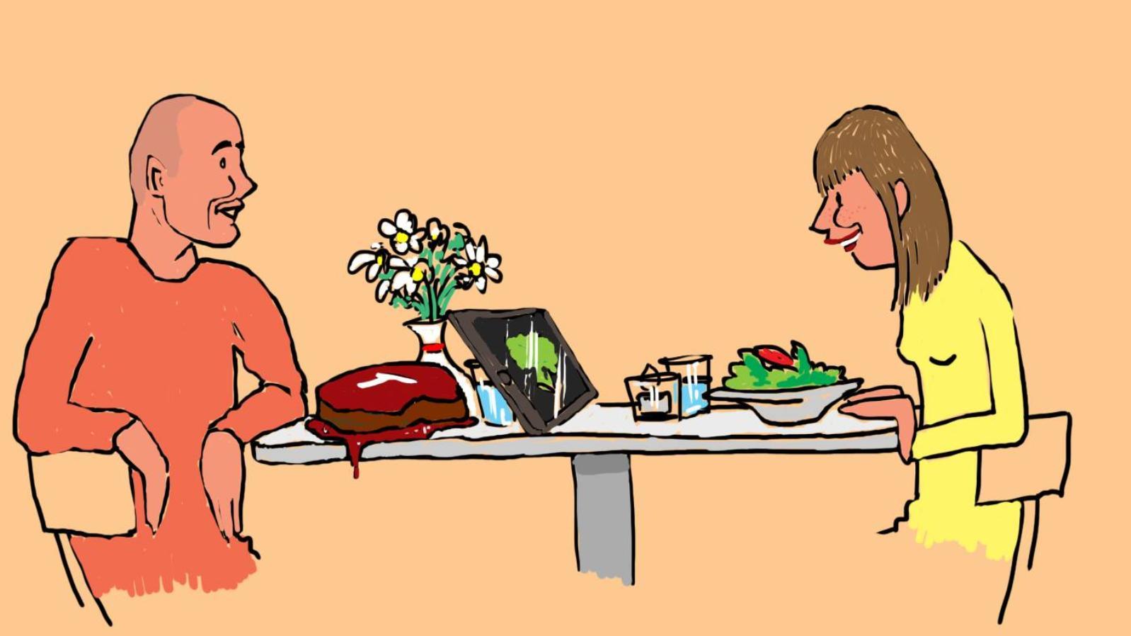 Meat eater dating vegetarian