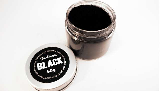 the world s mattest flattest black acrylic paint is available to