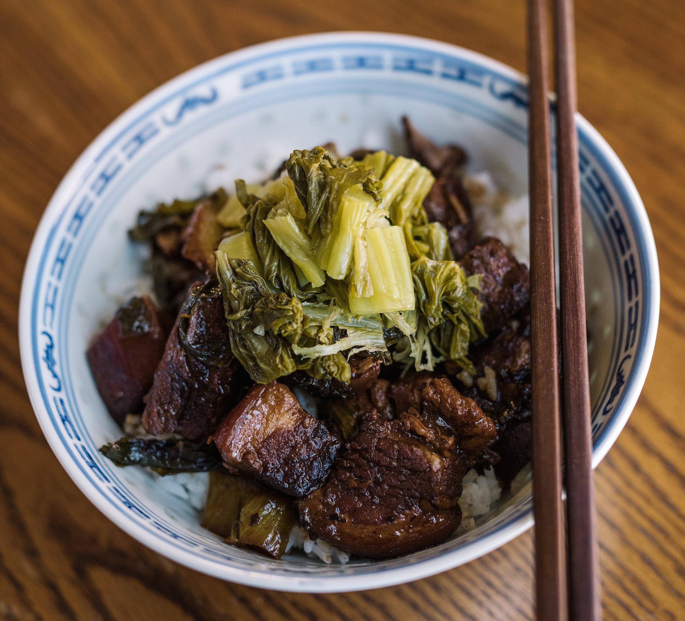 Ham Choy and Pork