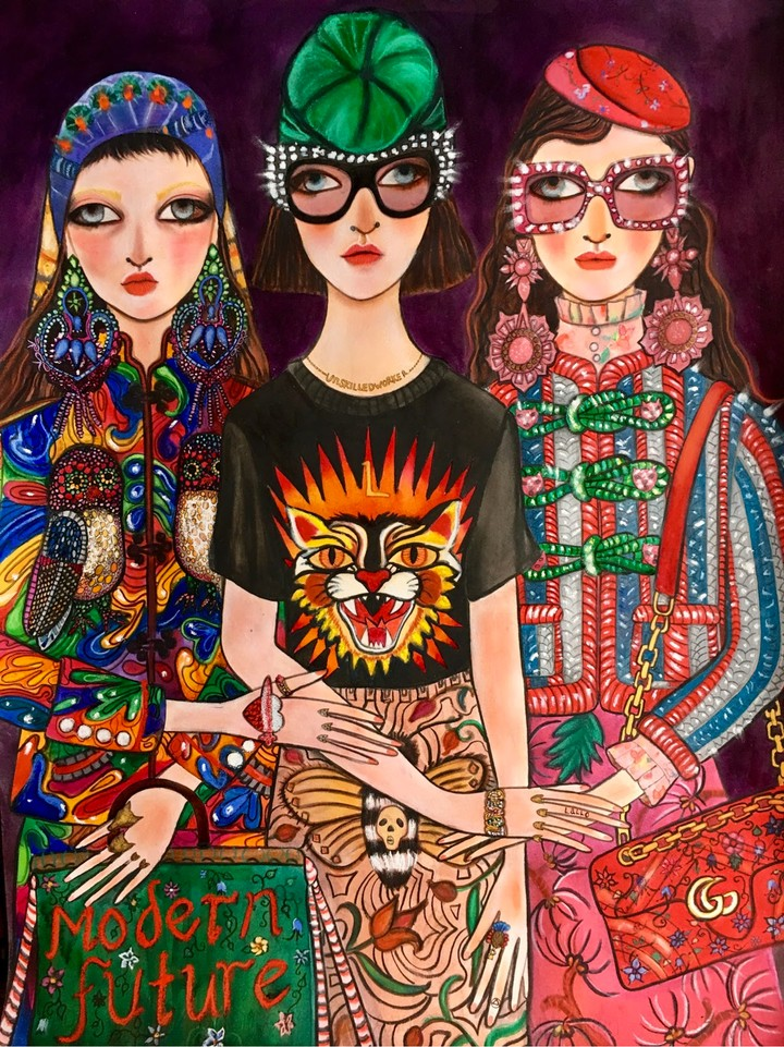 Gucci's Favorite Painter Is a Self-Taught Instagram Star