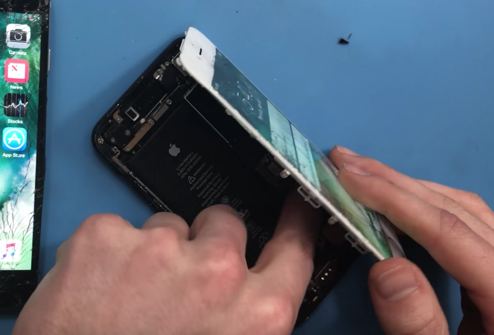Touch id not working iphone 6s after screen replacement